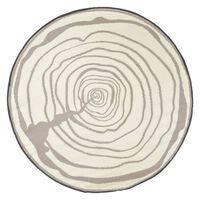 Esschert Design Lauko kilimas, 170cm skersmens, didėjantys žiedai