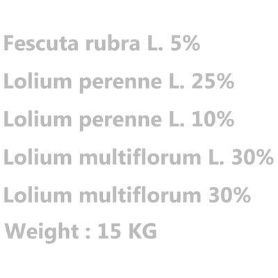 vidaXL Gazon vejos sėklos, 15kg