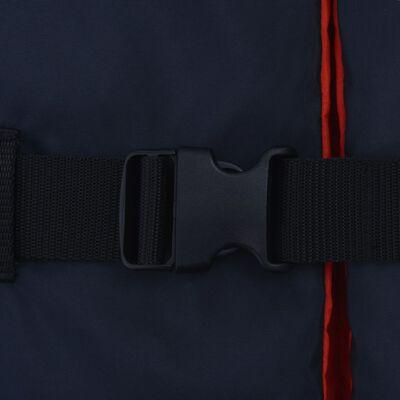 vidaXL Gelbėjimosi liemenės, 4vnt., tamsiai mėlynos, 50 N, 90+ kg
