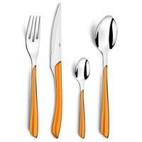 Amefa Stalo įrankių rinkinys Eclat, 24 dalių, oranžinės spalvos