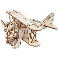 WOODEN CITY Medinio modelio rinkinys-biplanas