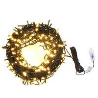 Girlianda su 400 LED lempučių, 40m, 8 šviesos efektai, IP44