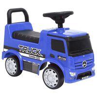 vidaXL Paspiriamas vaikiškas sunkvežimis Mercedes-Benz, mėlynas