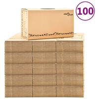 vidaXL Kraustymosi dėžės, 100vnt., 60x33x34cm, XXL (5x30145)