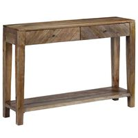 vidaXL Konsolinis staliukas, mango medienos masyvas, 118x30x80cm