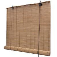 Rudas Roletas iš Bambuko 100 x 160 cm