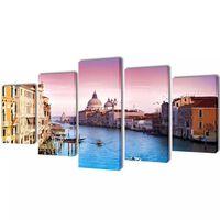 """Fotopaveikslas """"Venecija"""" ant Drobės 200 x 100 cm"""