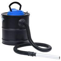 vidaXL Pelenų siurblys su HEPA filtru, plienas, 1200W, 20l