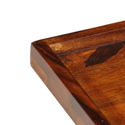 vidaXL Serviravimo padėklas, 50x50cm, rausvosios dalbergijos masyvas