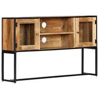 vidaXL TV spintelė, 120x30x75cm, perdirbtos medienos masyvas