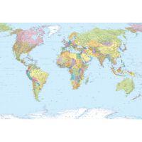 Komar Foto siena World Map XXL, 368x248cm