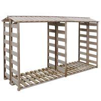 vidaXL Malkinė, 300x90x176cm, impregnuota pušies mediena
