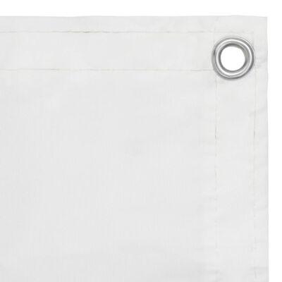 vidaXL Balkono pertvara, baltos spalvos, 120x300cm, oksfordo audinys