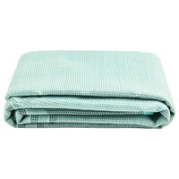vidaXL Palapinės kilimas, žalios spalvos, 500x300cm