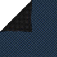 vidaXL Saulę sugerianti baseino plėvelė, juoda/mėlyna, 549x274cm, PE
