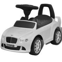 Bentley Vaikiškas Automobilis Paspirtukas, Baltas