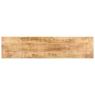 vidaXL Televizoriaus spintelė, 130x30x42cm, neapdorota mango mediena