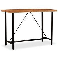 vidaXL Baro stalas, akacijos mediena, 150x70x107 cm