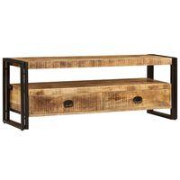 vidaXL TV spintelė, 120x35x45cm, mango medienos masyvas
