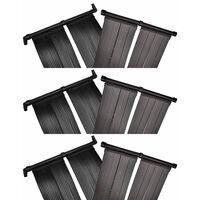 vidaXL Baseino šildymo plokštės, 6vnt., 80x620cm (6x90349)