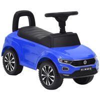 vidaXL Paspiriamas vaikiškas automobilis Volkswagen T-Roc, mėlynas