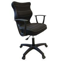Entelo Ergonomiška biuro kėdė NORM, juoda, BA-B-6-B-C-FC01-B