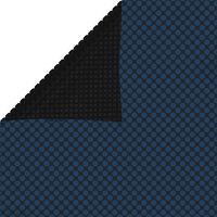 vidaXL Saulę sugerianti baseino plėvelė, juoda/mėlyna, 800x500cm, PE