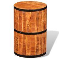 vidaXL Baro kėdė, mango mediena