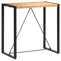 vidaXL Baro stalas, 110x60x110cm, mango medienos masyvas