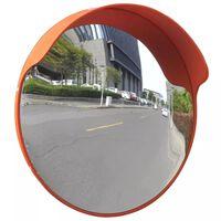 Sferinis kelio veidrodis, oranžinis, 30cm, PC plastikas, laukui