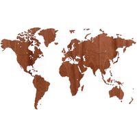 MiMi Innovations Dekoracija-žemėlapis Exclusive, 130x78cm, tiama