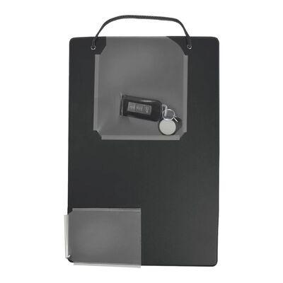 Proplus Dirbtuvių remonto užsakymų laikikliai, A4, 10vnt., juodi