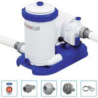 Bestway Flowclear Baseino siurblys su filtru, 9463 l/val.