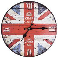 vidaXL Sieninis laikrodis, 30cm, vintažinio stiliaus, JK dizaino