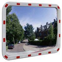 Kelio veidrodis, stačiakampis, 60x80cm, PC plastikas, su atšvaitais