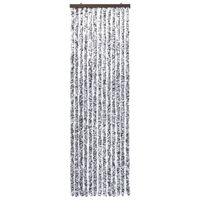 vidaXL Užuolaida nuo vabzdžių, ruda ir smėlio, 120x220cm, šenilis