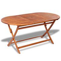 vidaXL Sodo stalas, 160x85x75cm, akacijos medienos masyvas