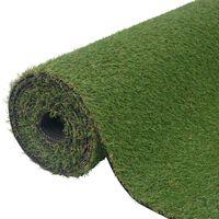 vidaXL Dirbtinė žolė, 1,5x10 m/20mm, žalios spalvos